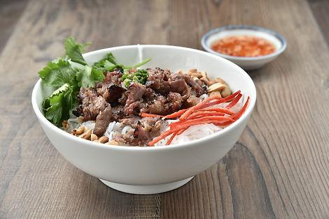 Bun thit nuong - Vietnamese grilled pork