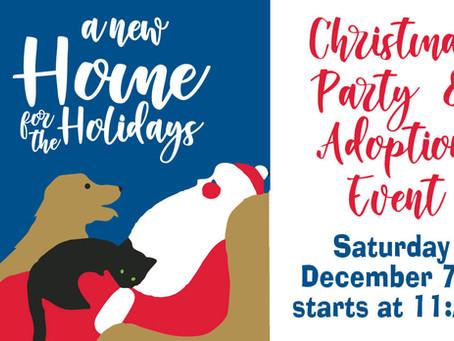 Christmas Party & Adoption Event!