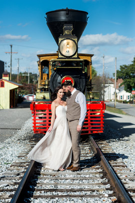 Emerald Stone Photography & Steam Into History   Weddings on a Train