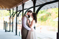 Emerald Stone Photography & Steam Into History | Weddings on a Train