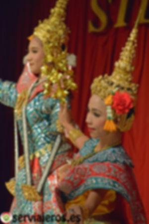 espectáculo tailandés