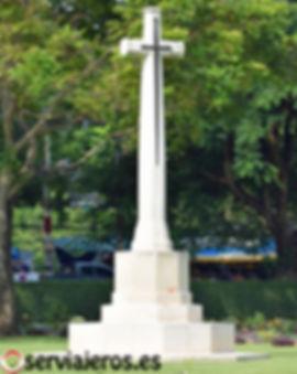 Cementerio de la guerra Kanchanaburi