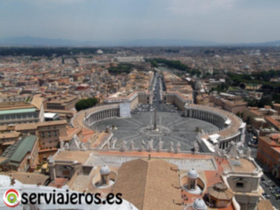 Vistas desde la cúpula de San Pedro