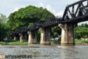 Puente de hierro Kanchanaburi