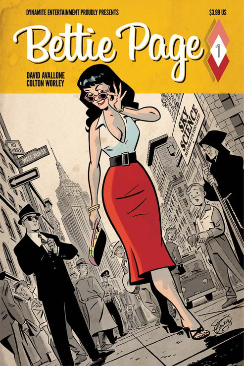 BETTIE PAGE Vol. 1 #1 Dynamite Comics