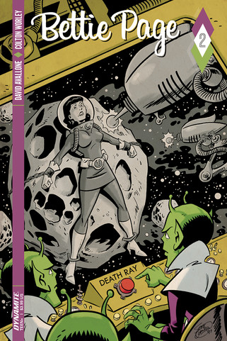 BETTIE PAGE Vol. 1 #2 Dynamite Comics