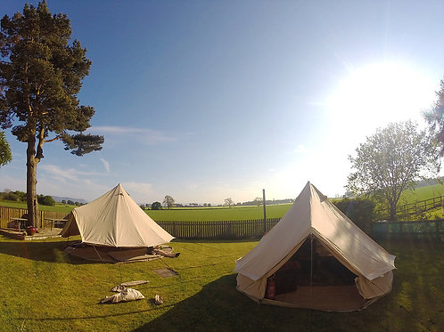 Bell Tent Pro (5M) with Furniture / No Stove