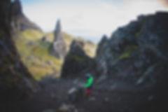 Old Man of Stoor mountainbiking