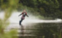 Water Skiing River Tweed