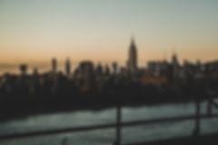 Sunset New York from Williamsburg