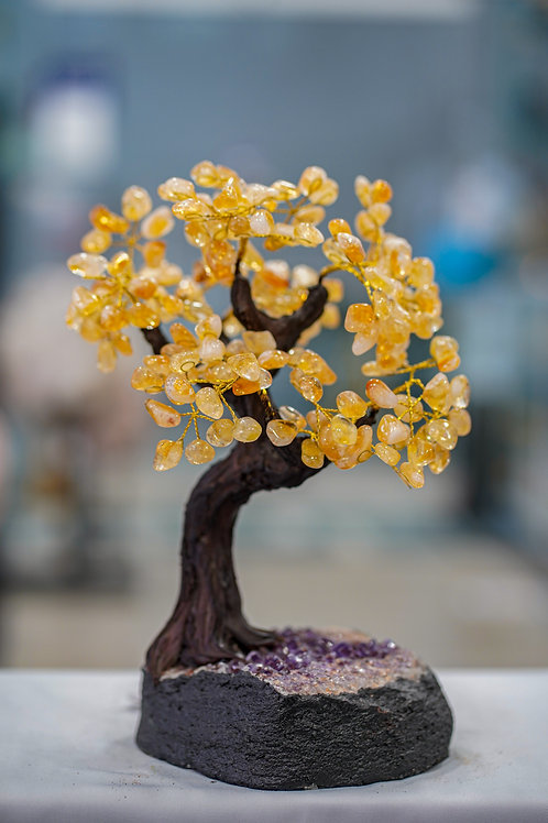 CITRINE CRYSTAL TREE