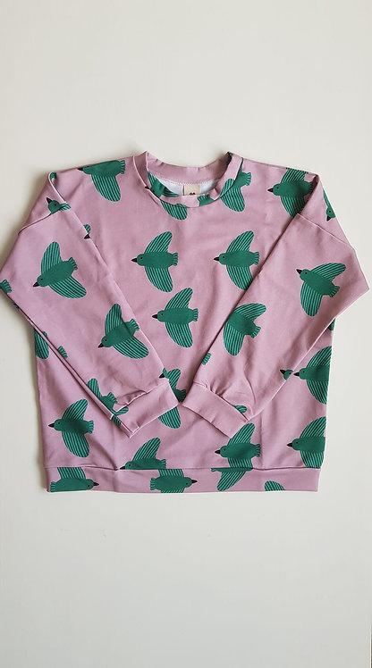 Green Birds sweatshirt