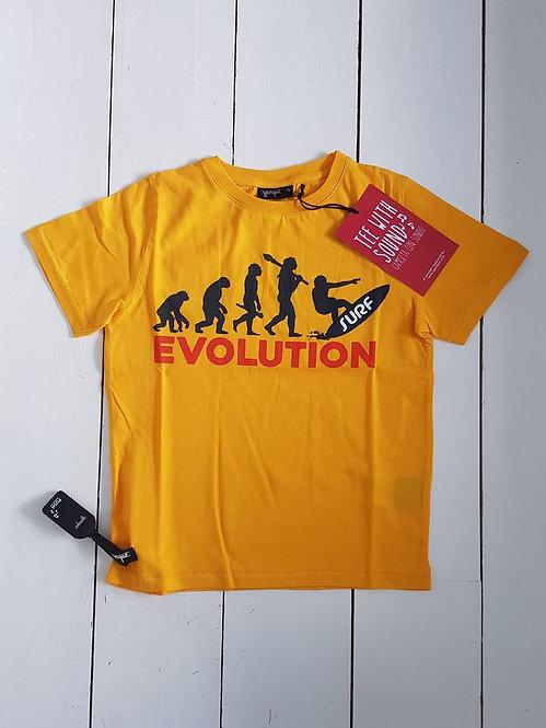 Evolution sound tshirt