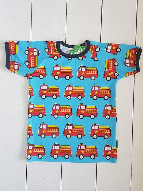 Fire truck tshirt