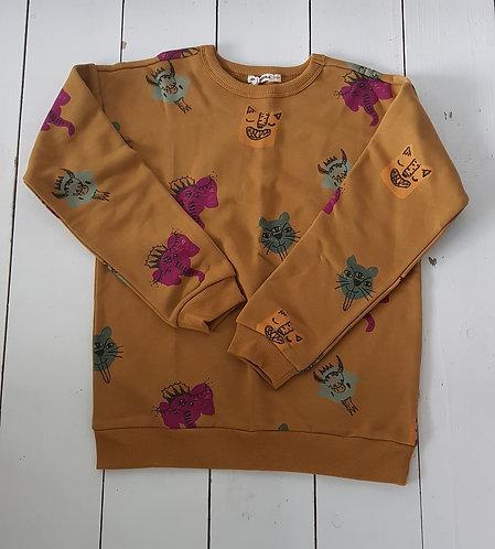 Animal heads sweatshirt