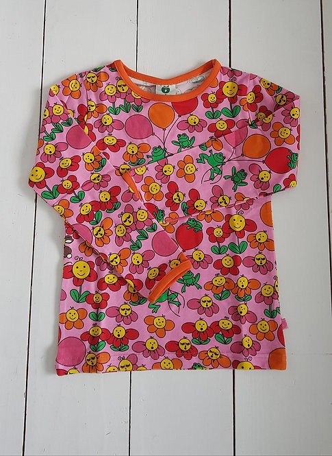 Flowers pink top