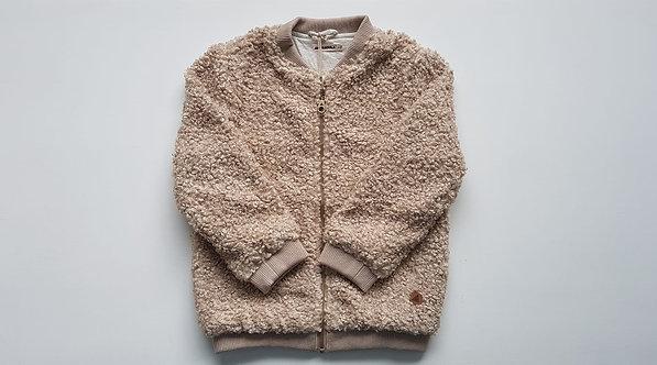 Teddy short zip up jacket