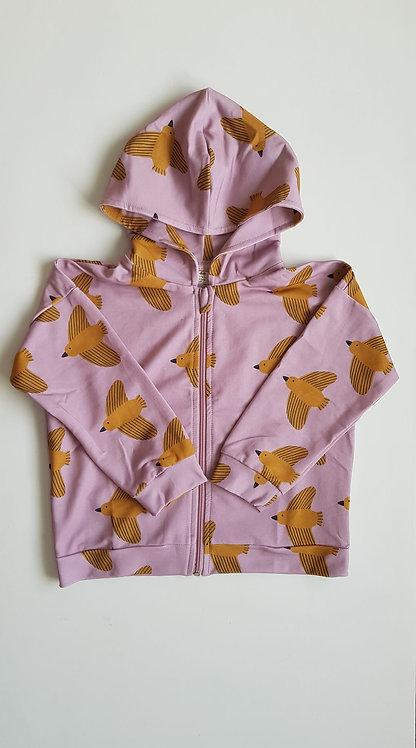 Yellow birds hoodie