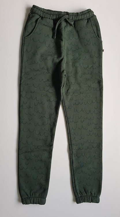 Green waves sweatpants