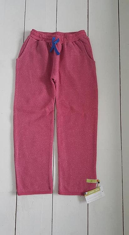 Melange sweatpants rose