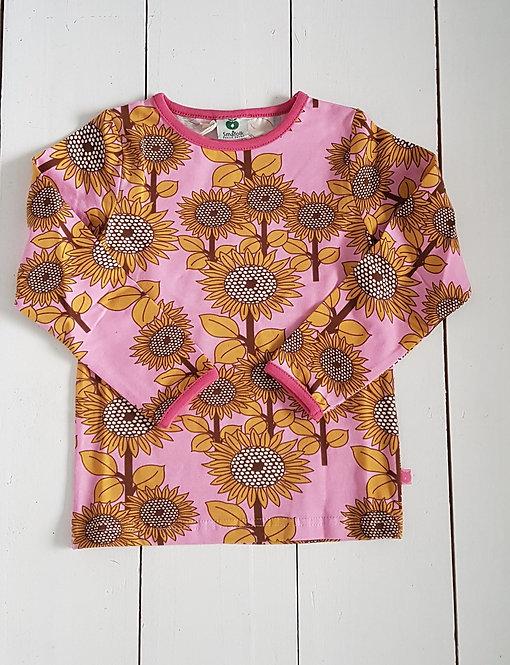Sunflower top pink