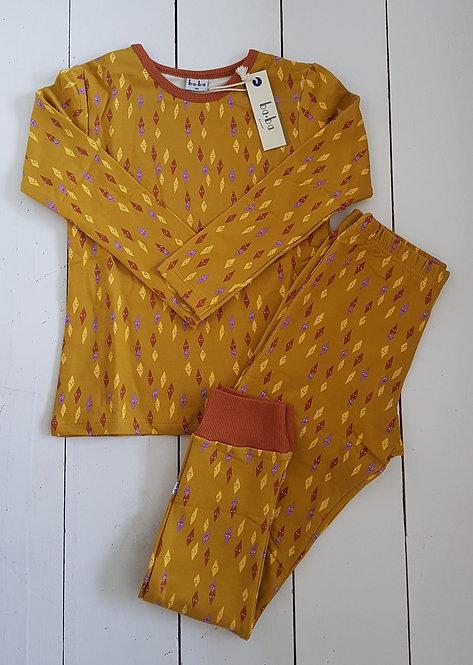 Pyjama mustard yellow