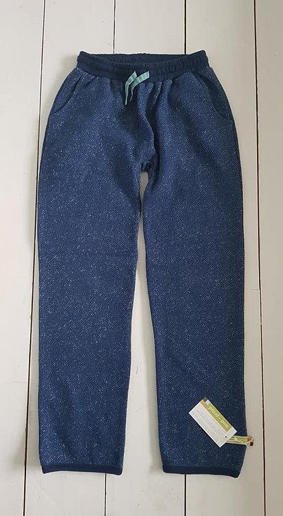 Melange sweatpants ultramarine