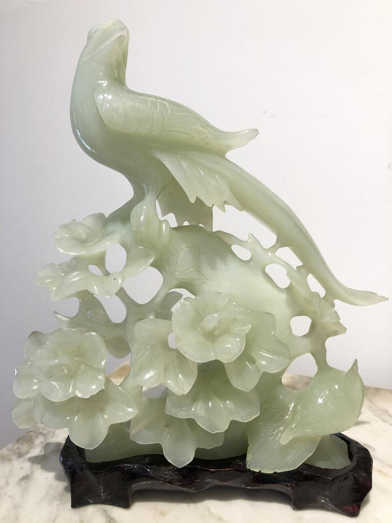 Statuette en jade
