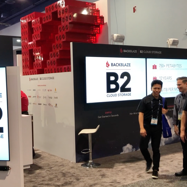 Backblaze Videos NAB 2019