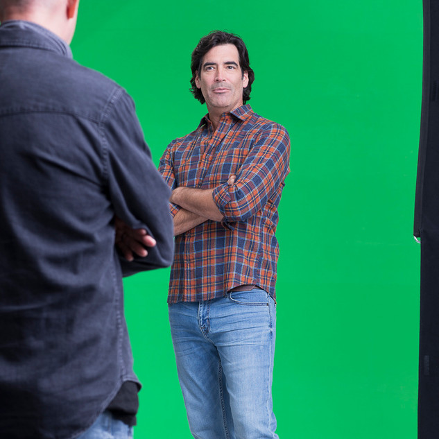 Directing HGTV Star Carter Oosterhouse for Stromclaim.com