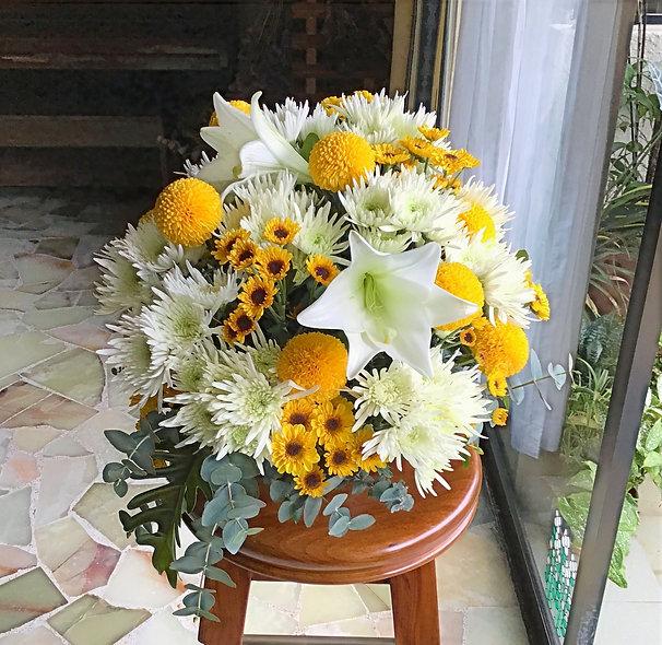 Chrysanths & Lilies