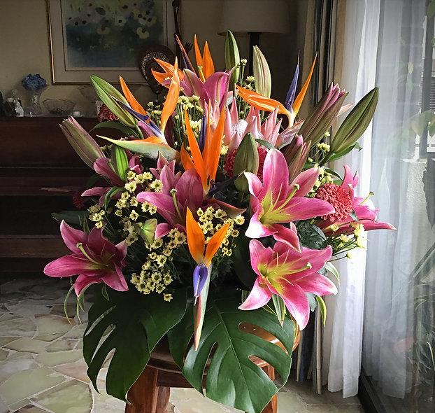 Lilies & Birds
