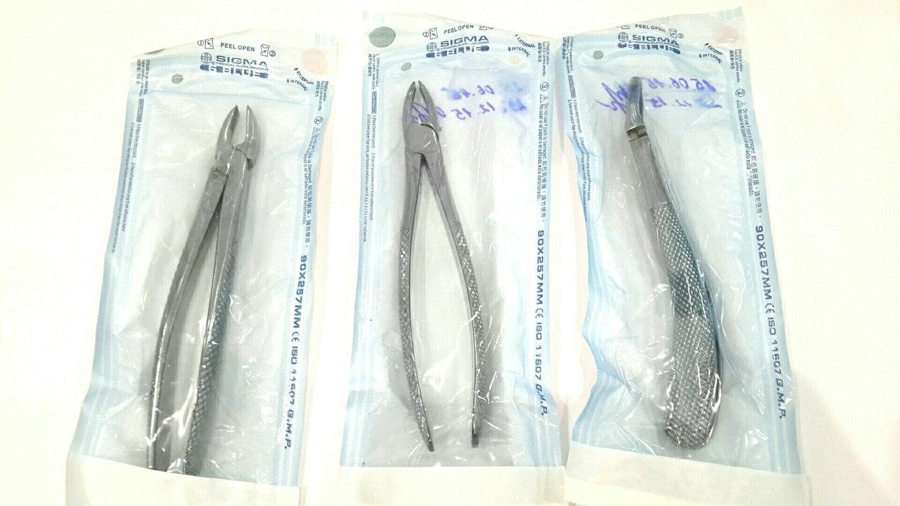 Хирургические щипцы.