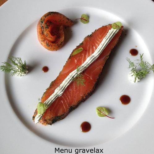 Menu Gravelax