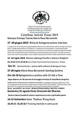 Programma Estate 2019