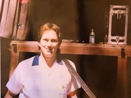 Jerry Douglas with my 206 dobro