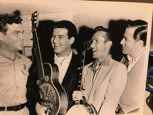 Andy, LeRoy, Billy Ray, and Hugh Marlow (Mr. Maxwell)