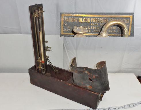 """1910 """"Faught Blood Pressure Apparatus"""""""