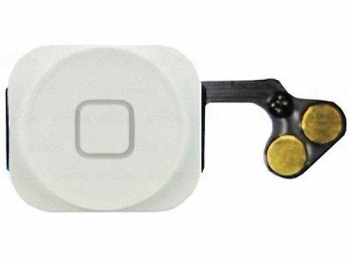 Botão Home Flex Original Completo Iphone 5g Branco