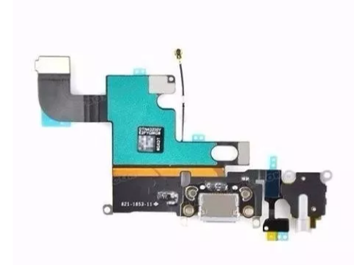 Flex Conector Carga Fone Microfone Iphone 6g Branco