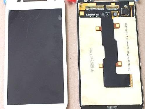 Tela Display Moto E 2 Geração Xt1523 Xt1514 Branco