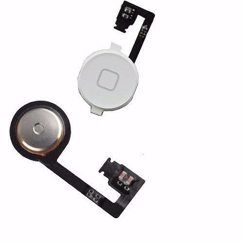 Botão Home Menu Button Flex Cable Iphone 4s Branco