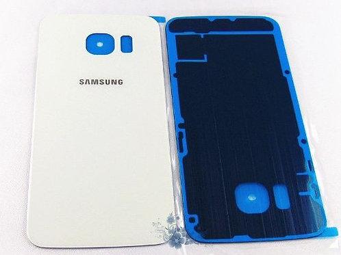 Tampa De Vidro Traseira Samsung Galaxy S6 G920 Branco