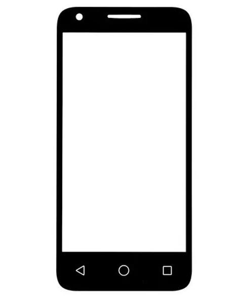 Tela Vidro Sem Touch Alcatel Pixi 3 4.5 4027 4028e 5017e