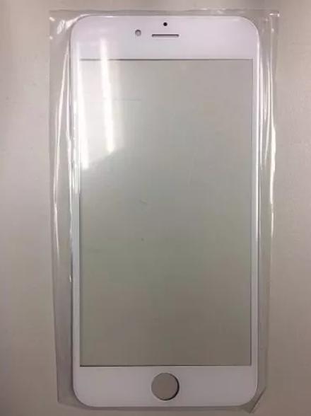 Vidro Iphone 6 Plus 5.5 Branco Tela Lente Sem Touch