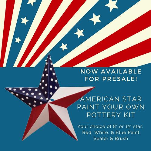 "PYOP Kit: 12"" American Star"
