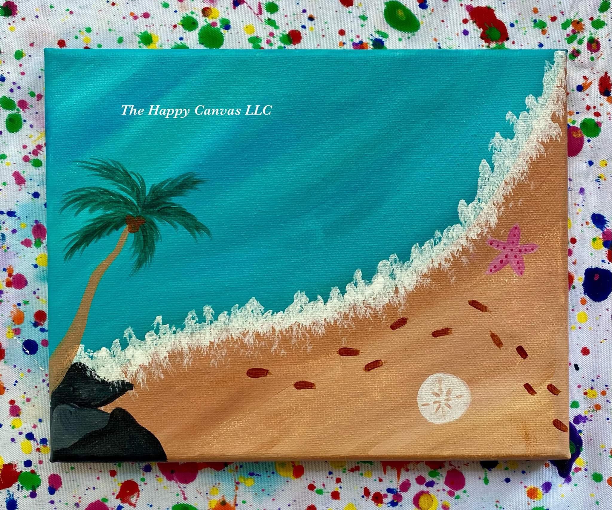 The Happy Canvas: Kids Paint Class 8/16