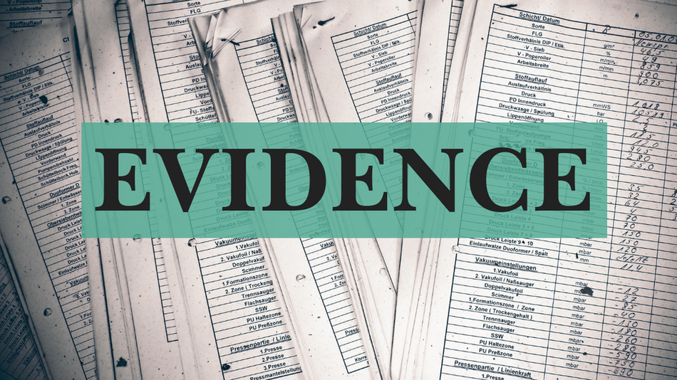 How to review evidence - Part 1