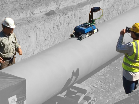 New Technology 3D NDT Robot (MR Equus) Tested on Storage Tank and Pipe Line
