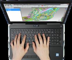 Geometrics Laptop Photo